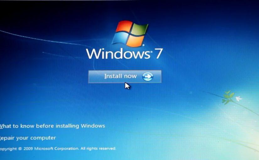 طريقة فرمتة الكمبيوتر ويندوز 7