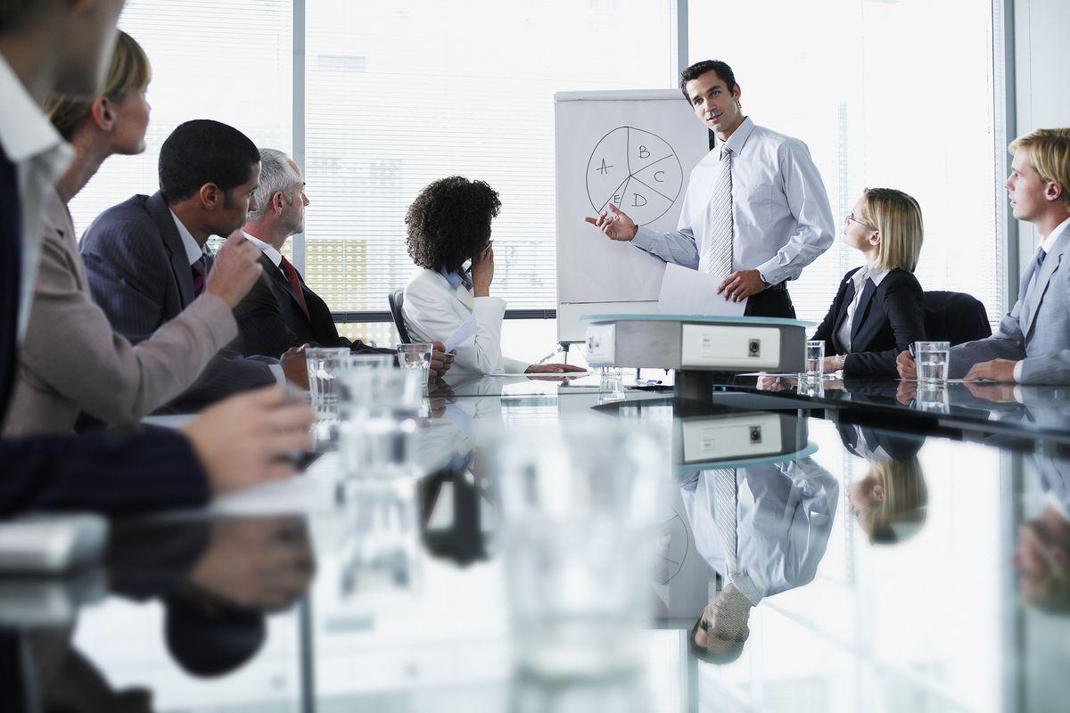 طريقة كتابة محضر اجتماع