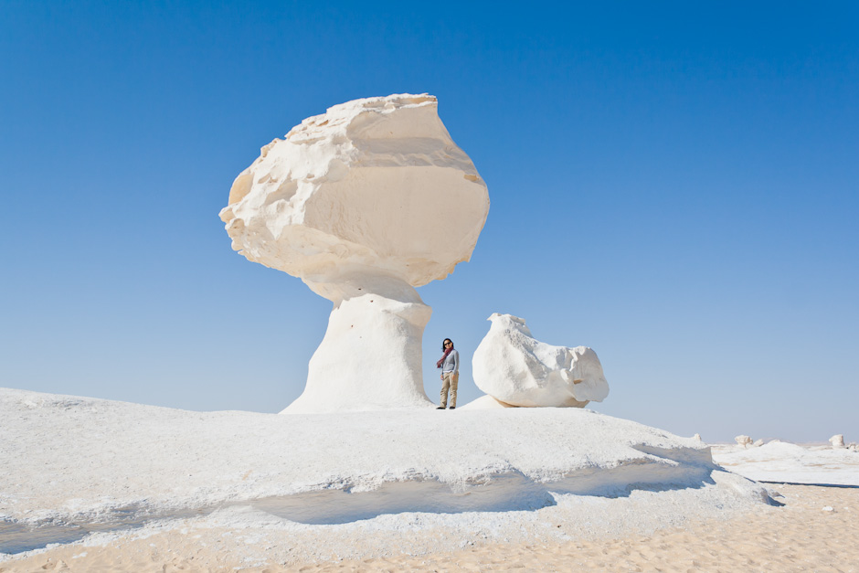 الصحراء البيضاء بالوادي الجديد