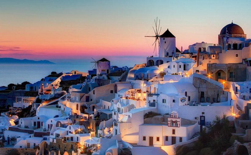 السياحة في اليونان جزيرة سانتوريني