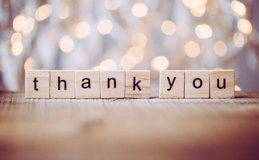 كلمات شكر وتقدير مكتوبة
