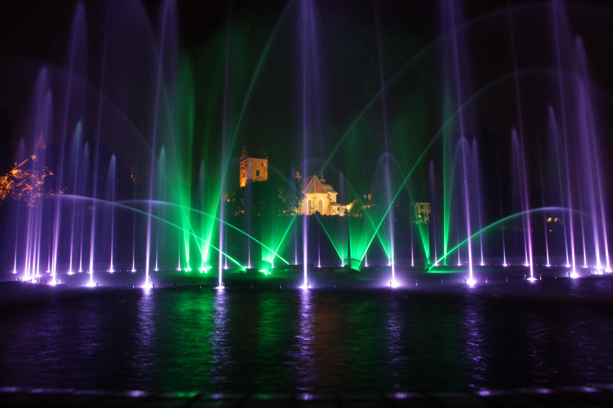 حديقة نافورة وارسو
