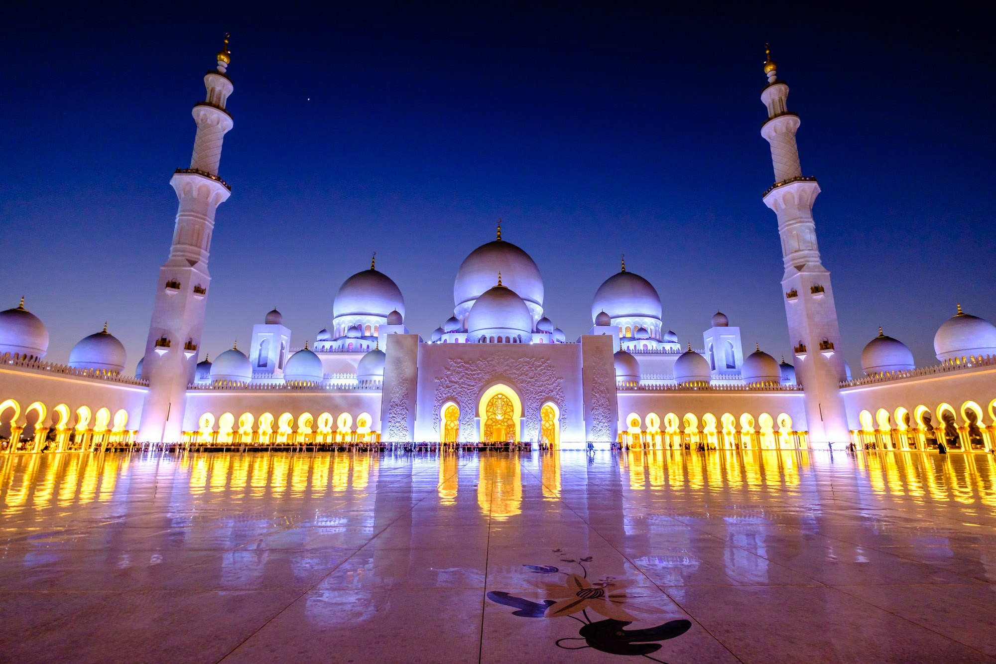 مسجد الشيخ زايد بن سلطان آل نهيان