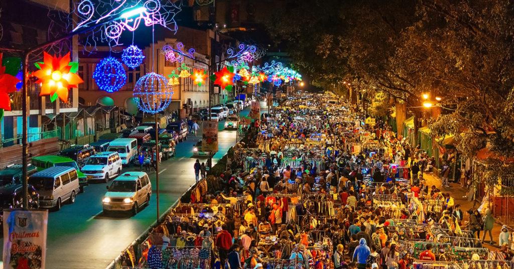 سوق Baguio Night