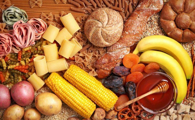 أين توجد الكربوهيدرات في الطعام