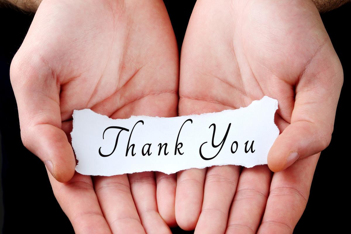 عبارات شكر وامتنان