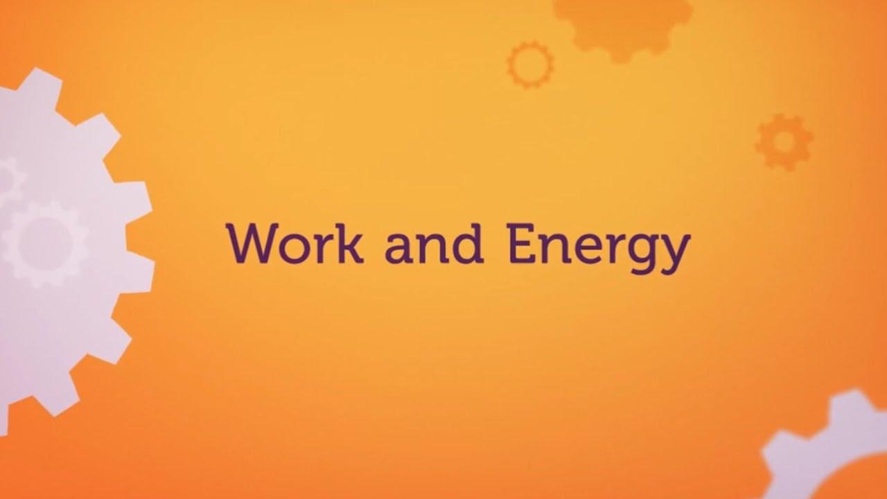 بحث عن الطاقة والشغل