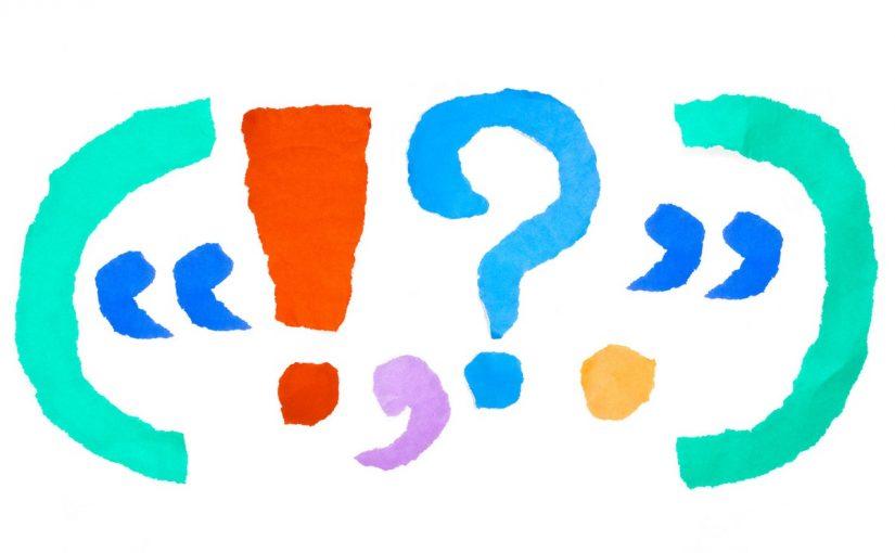 بحث عن علامات الترقيم في اللغة العربية