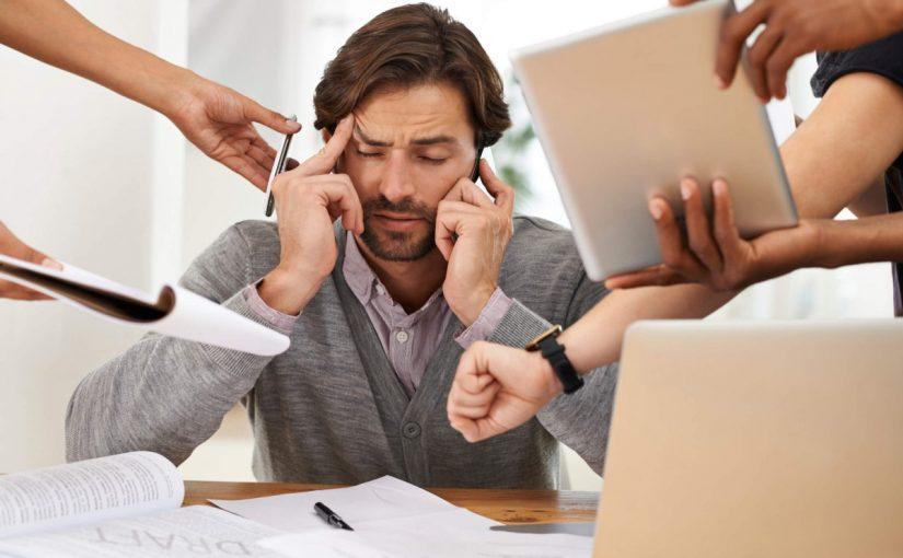 بحث عن ضغوط العمل وكيفية التعامل معها