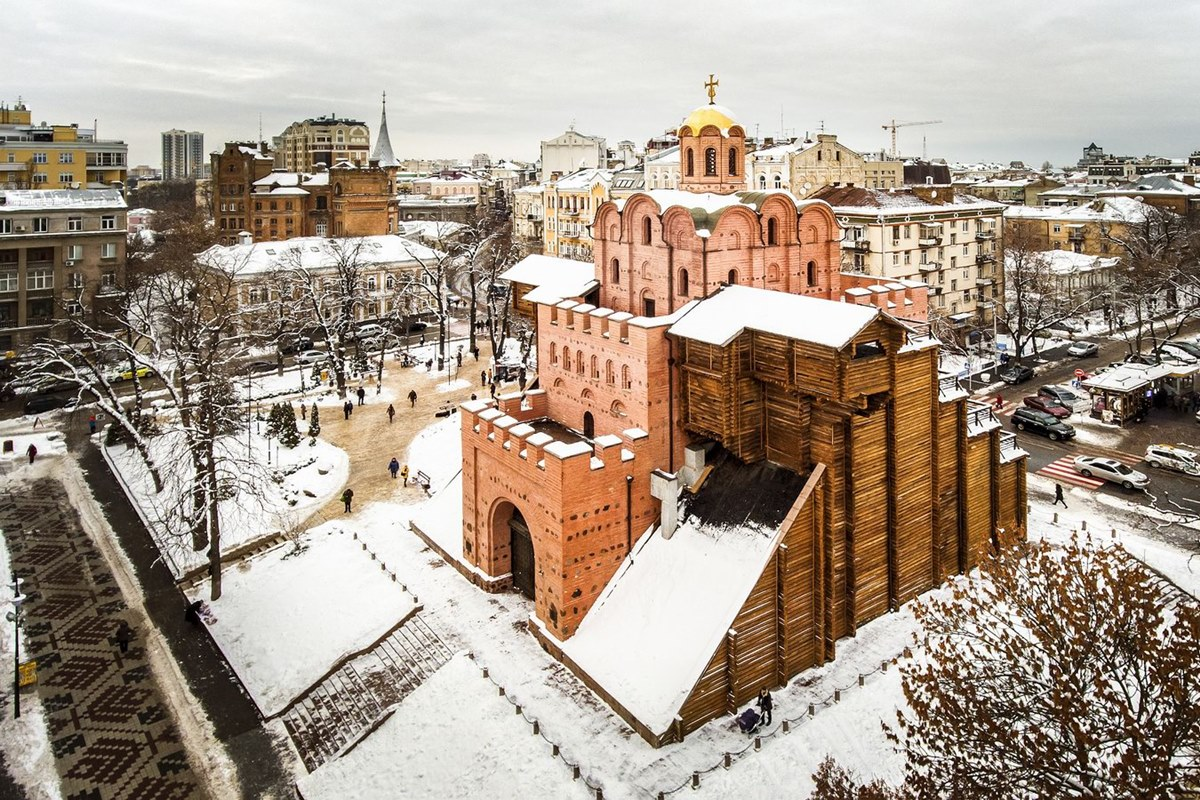 البوابة الذهبية بأوكرانيا