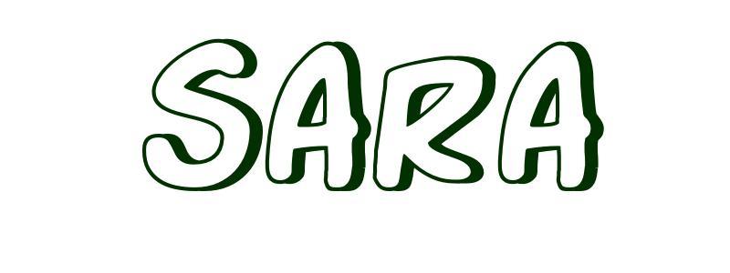 معنى اسم ساره