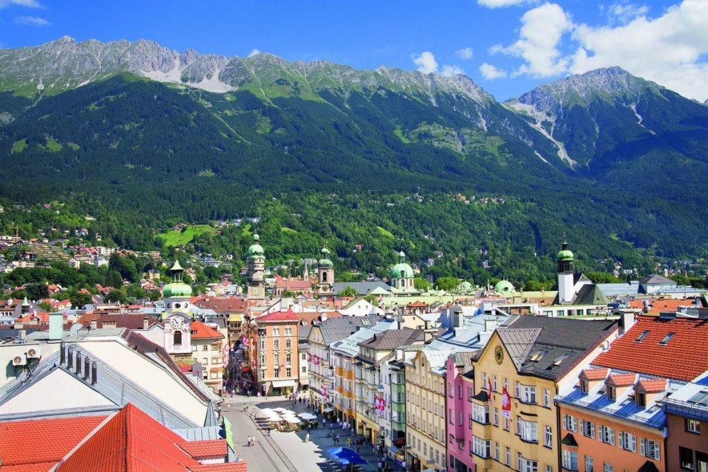 خريطة النمسا السياحية بالصور - موسوعة