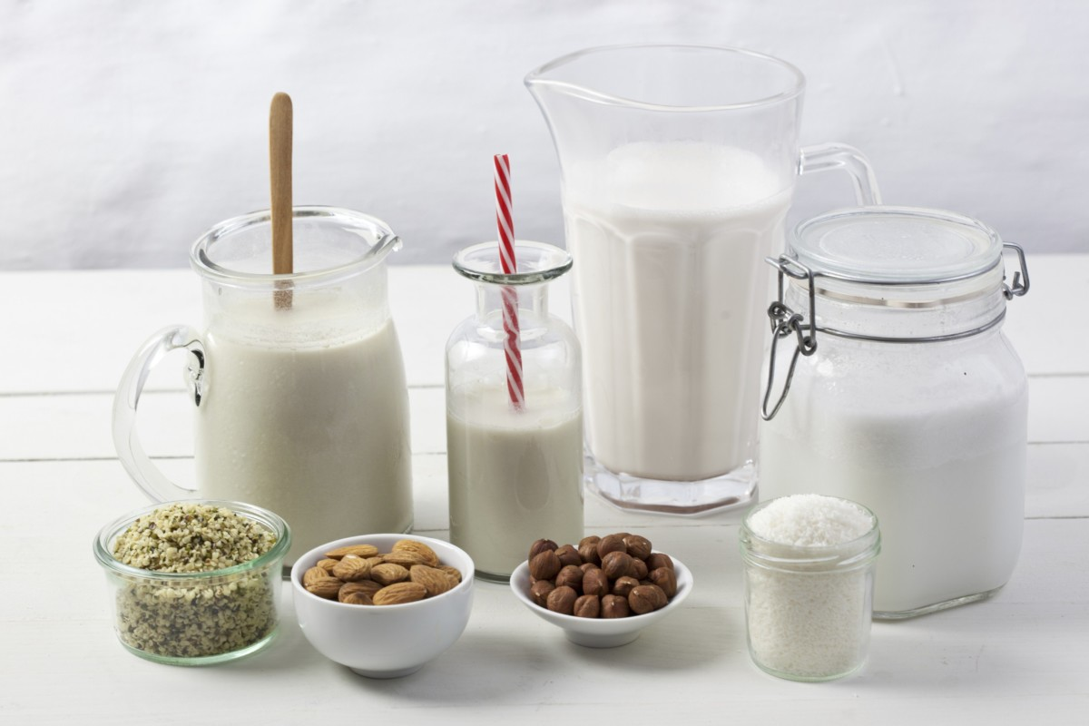 الحليب النباتي وأنواعه