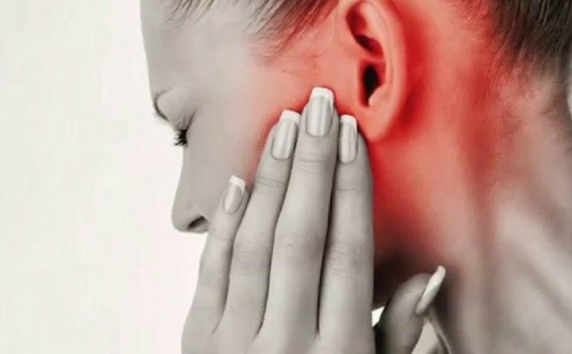 التهاب الاذن الوسطى للكبار