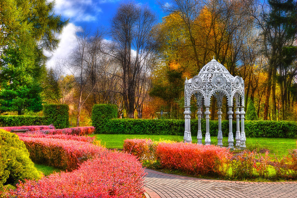 حديقة مينسك النباتية
