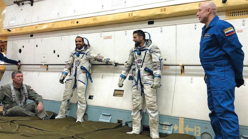 أماكن عرض الرحلة الأولى لرائد الفضاء الإماراتي