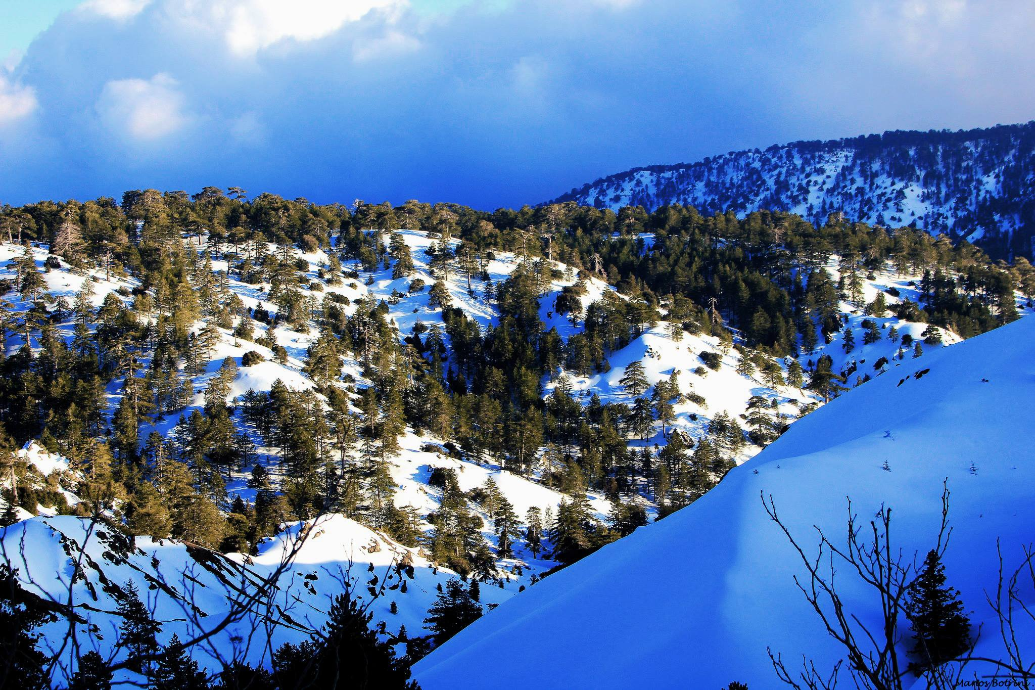 جبال ترودرس  Troodos Mountains