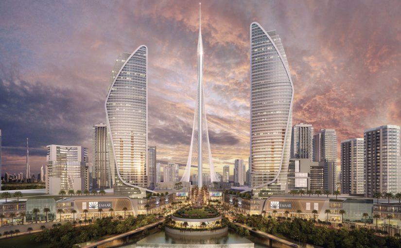 خور دبي برج أعلى