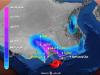 بالفيديو والصور… إعصار هيكا يضرب عمان ويغرقها في الظلام
