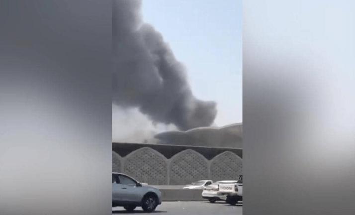 بالفيديو.. شاهد كيف أصبحت محطة قطار الحرمين في جدة بعد الحريق