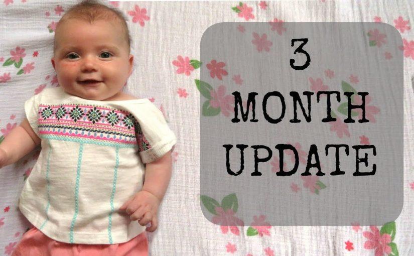 نمو طفلك في عمر الثلاثة أشهر