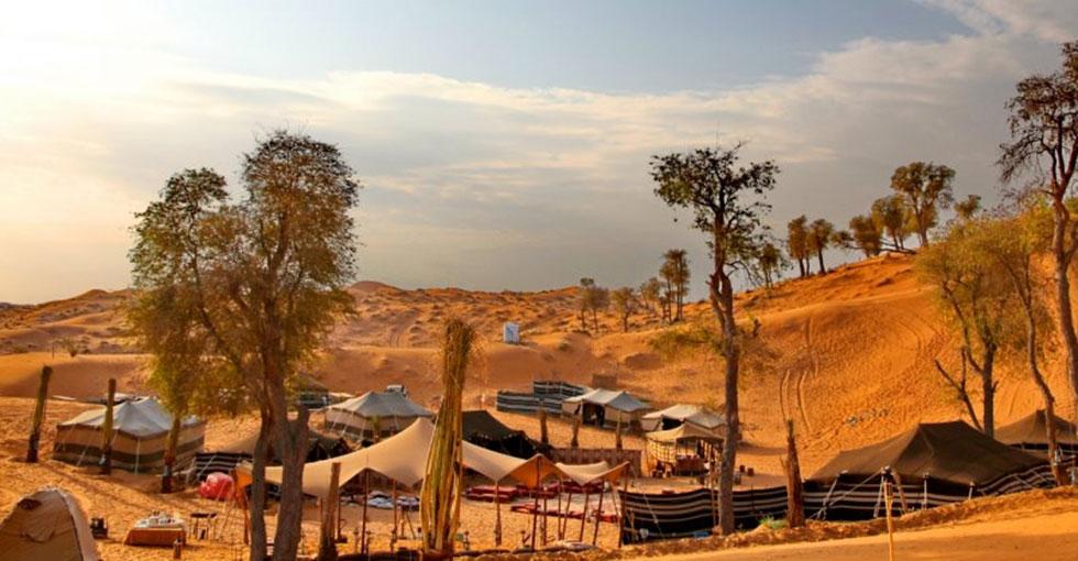 قرية بساطة الصحراوية