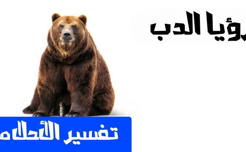 تفسير رؤية الدب في المنام للامام الصادق موسوعة