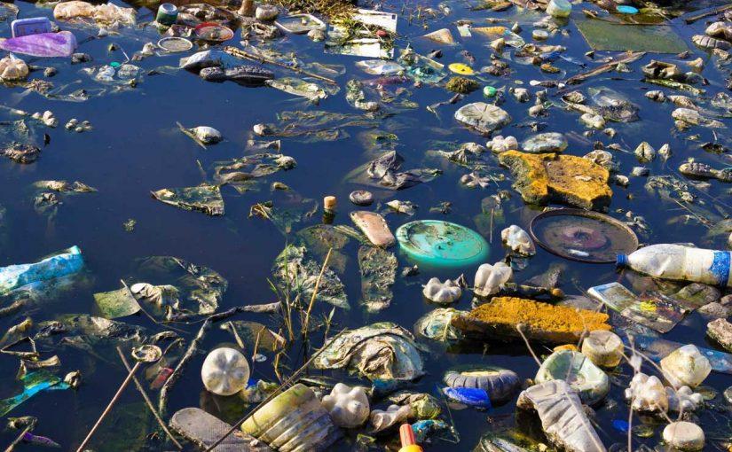 بحث عن تلوث المياه كامل