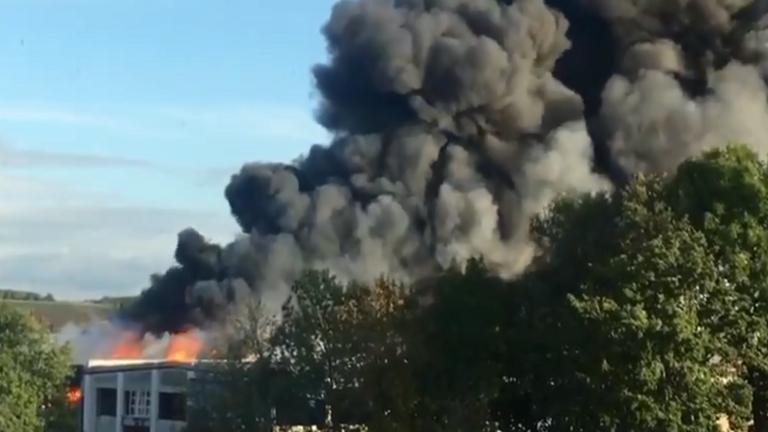 انفجار قرب مطار لينتس بالنمسا وإصابة شخصين بجروح خطيرة