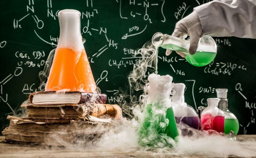 بحث عن الكيمياء اول ثانوي
