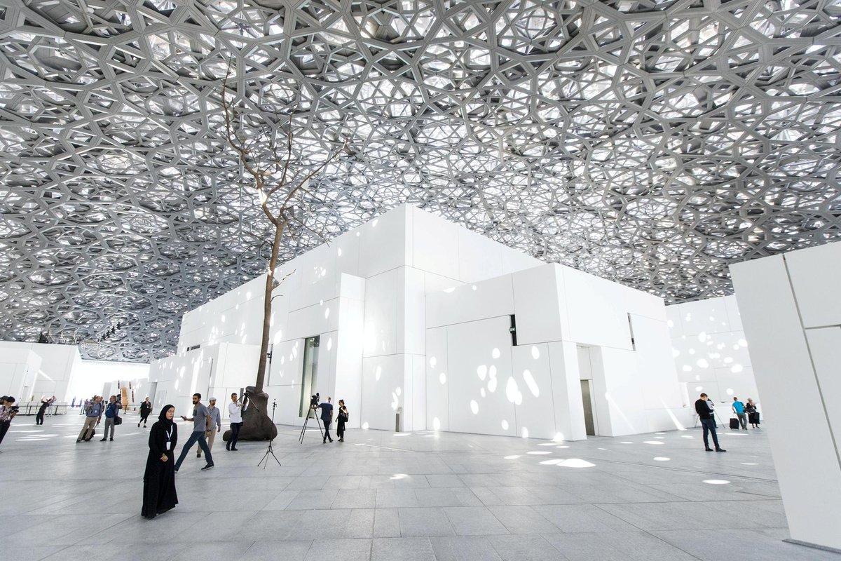 تصميم متحف اللوفر أبوظبي المعماري