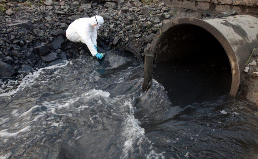 بحث عن تلوث المياه pdf