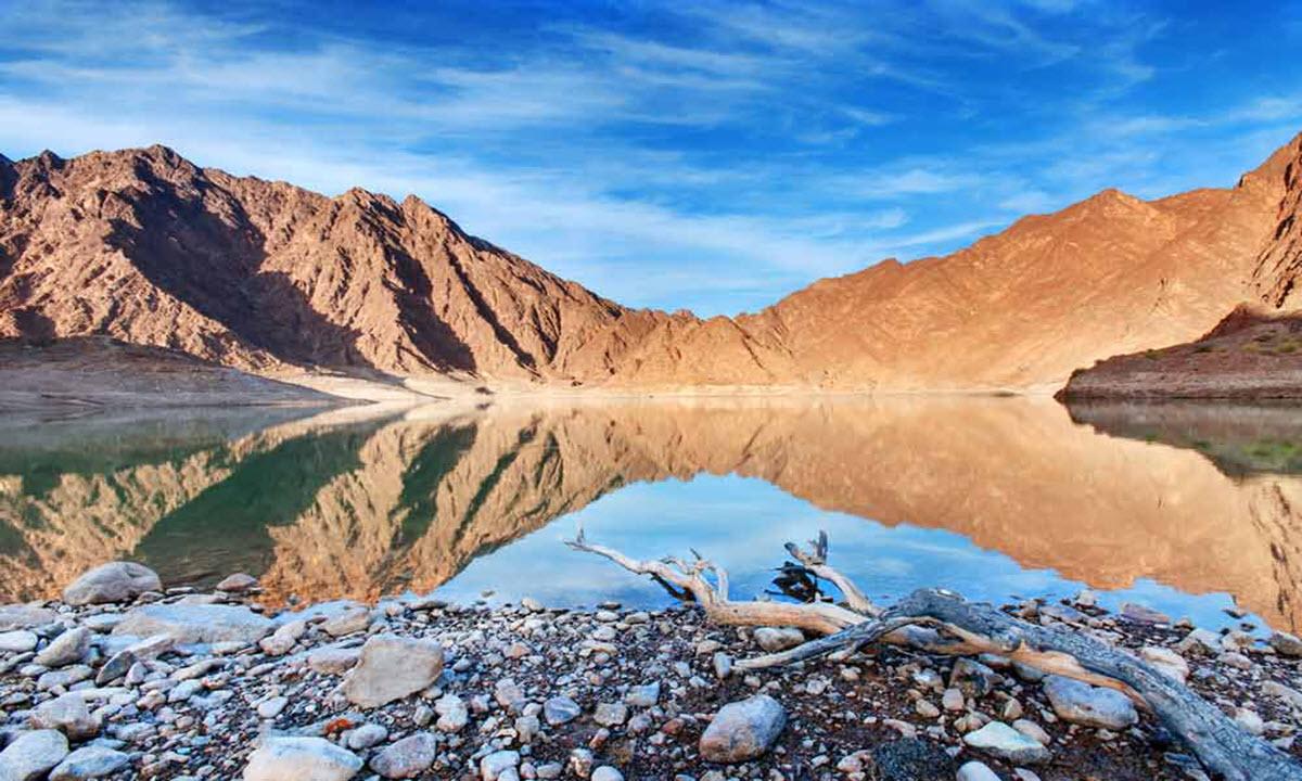 جبال حتا دبي