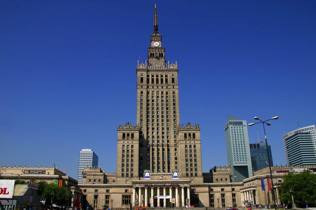 قصر وارسو للثقافة والعلوم