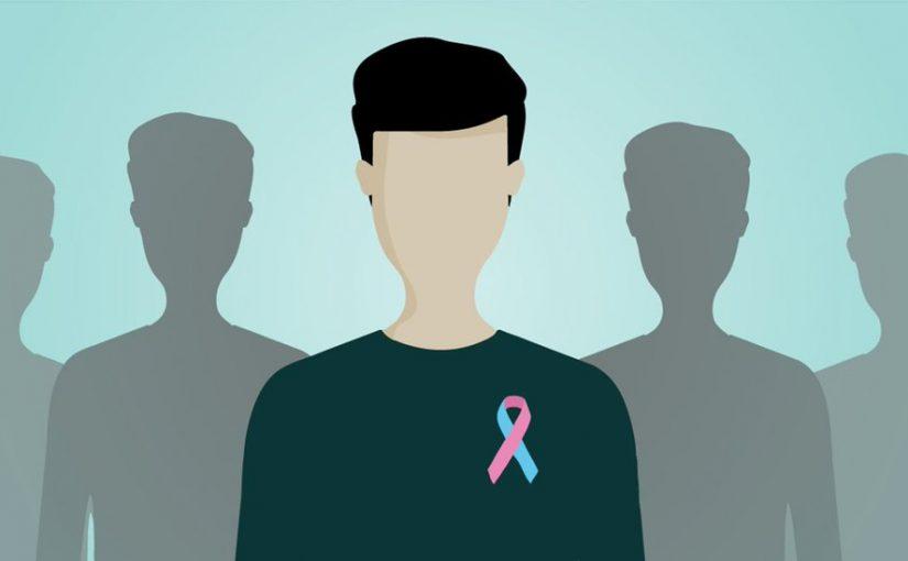 أعراض سرطان الثدي عند الرجال