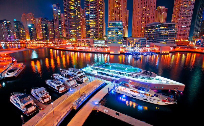 الرحلات البحرية في دبي