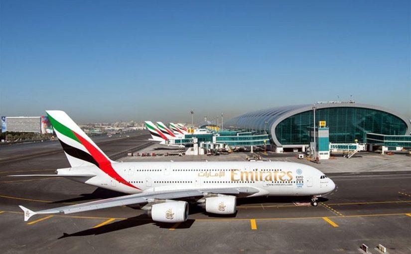 مطارات دبي تصدر بيان بسبب الظروف الجوية
