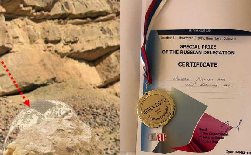 فتاة سعودية تخترع خيمة عسكرية.. وألمانيا تمنحها الميدالية الذهبية