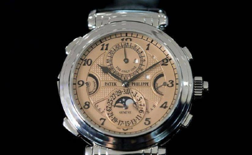 مجهول يشتري أغلى ساعة في التاريخ بسعر فلكي