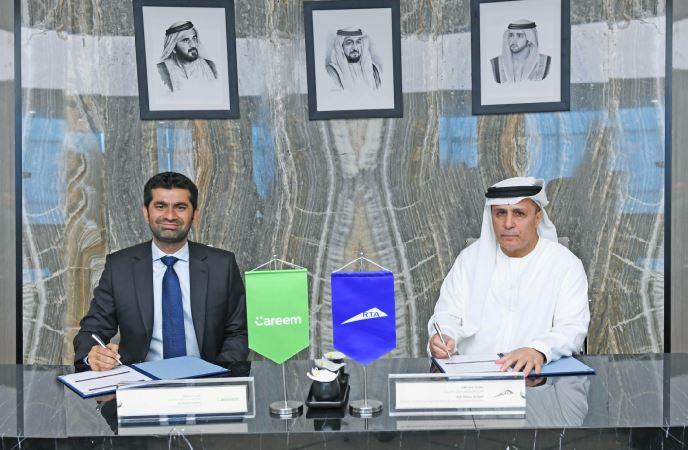 طرق دبي توقع مع كريم عقد لتشغيل 3500 دراجة في 350 محطة