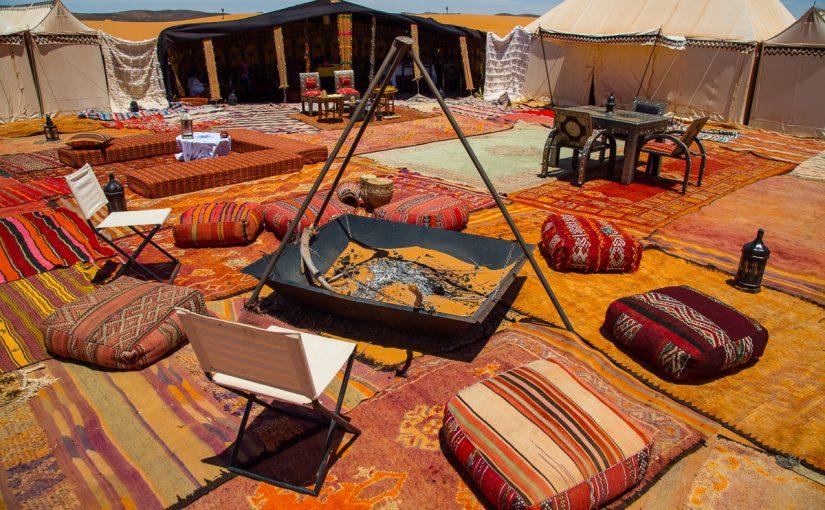 التخييم في دبي