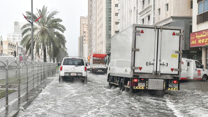 انتهاء المنخفض الجوي غدًا في الإمارات