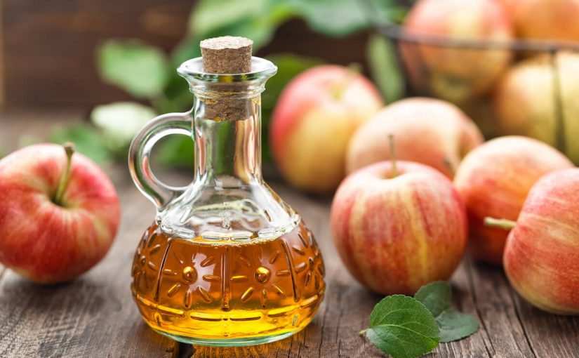 فوائد خل التفاح للكرش