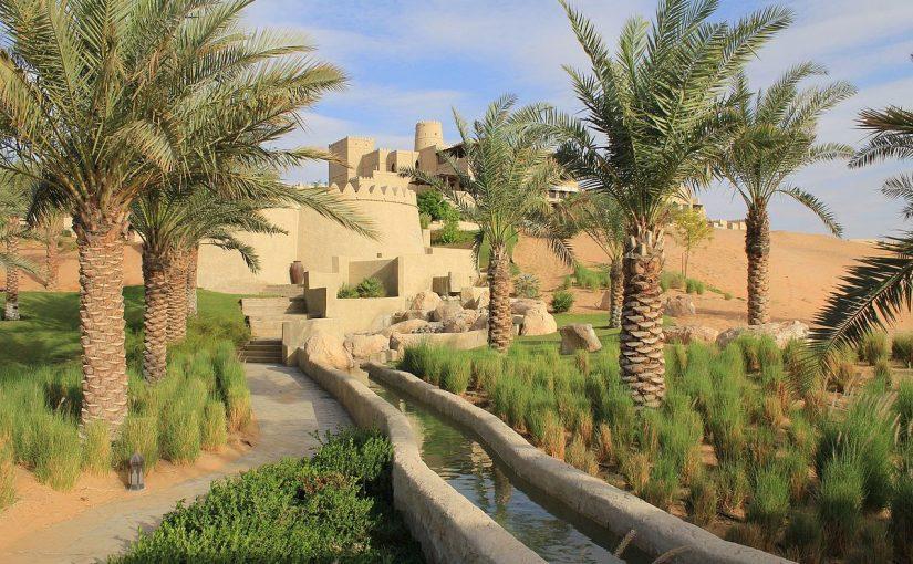 رحلة من دبي إلى ليوا