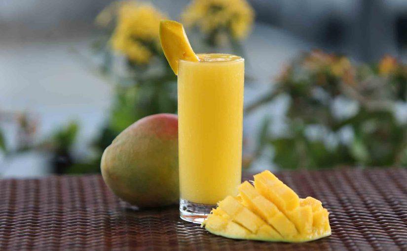 عصير مانجو طبيعي