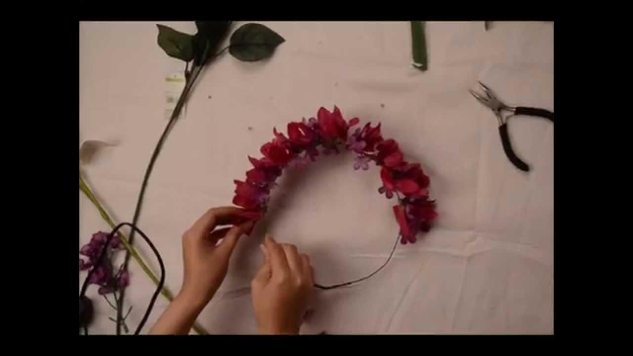 طريقة صناعة طوق الورد