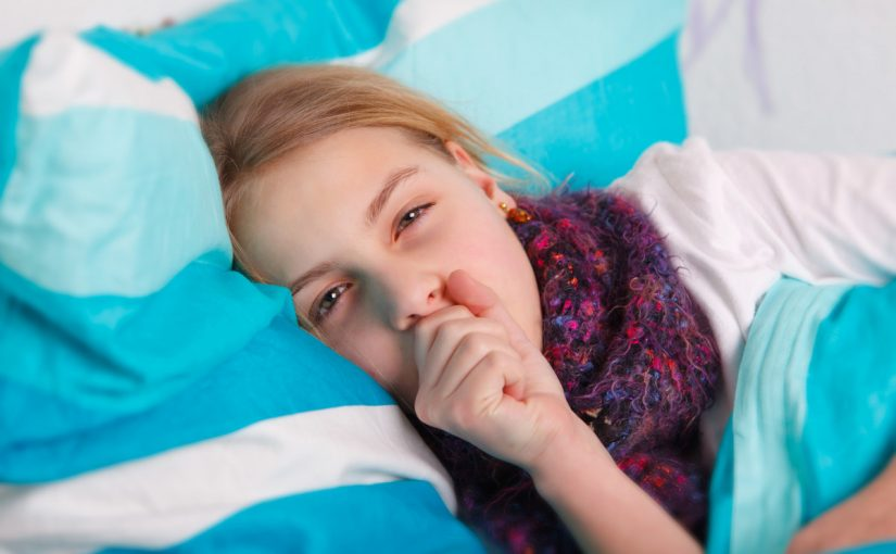 علاج الكحة للاطفال شعبي
