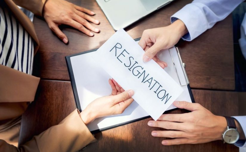 نموذج خطاب استقالة من العمل - موسوعة