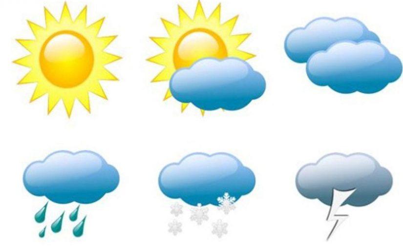 أمطار رعدية مصحوبة برياح حالة الطقس في السعودية اليوم الاثنين 9 ديسمبر
