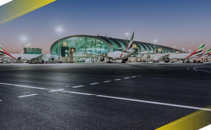استئناف الحركة الجوية بمطار دبي الدولي